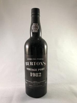 Burton's Vintage port 1982