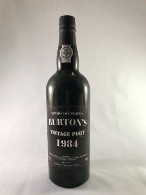 Burton's Vintage port 1984