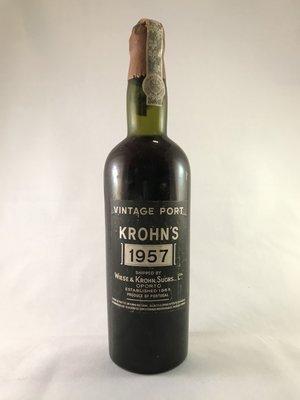 Wiese & Krohn Vintage port 1957