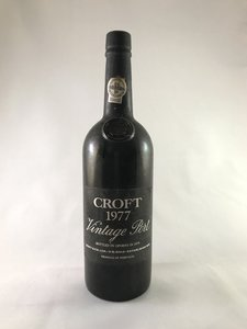 Croft Vintage port 1977